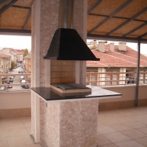 Balkon Barbekü Modeli